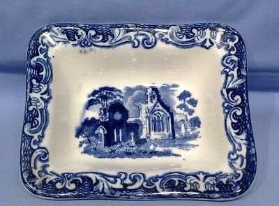 Abbey Ware Blue and White Unusual Mini Dish