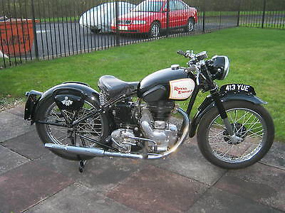Royal Enfield 1949 350 major £800 service 2012-dry stored ever since.immaculate