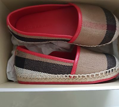 Burberry Baby Shoes Size 26 Brand New