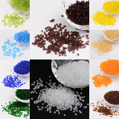 50g Frosted Glass Seed Beads Round Tiny Loose Beads Beading Craft Pick 2~4mm