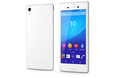 Brand New Sony Xperia M4 White Dummy Display Phone - Uk Seller