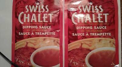 2 packs of Swiss Chalet Dipping Sauce - factory sealed - from Canada - exp 2019
