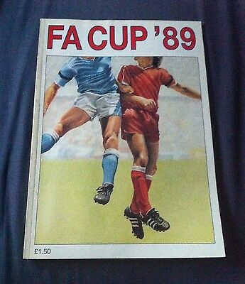 FA Cup 89 - Football Programme