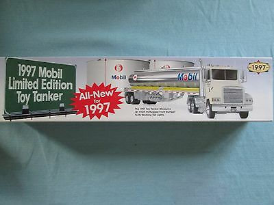 New in Box 1997 Mobil Limited Edition Toy Tanker Truck