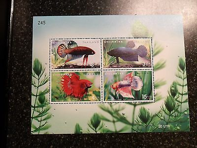 Stamps Fish of Thailand sheet mnh #245