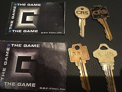 The Game Movie Film Prop Lot, Michael Douglas, David Fincher.-Fight Club Screen