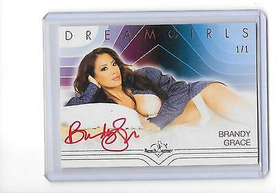 2017 Benchwarmer Dreamgirls Brandy Grace Red Foil Auto Autograph 1/1