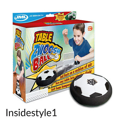 JML Table Zwoosh Ball: Portable Air Hockey Style Floating Table Football Game