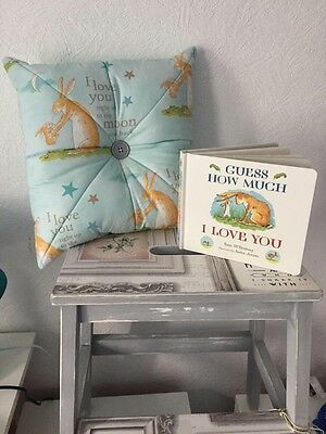 Love You To Moon And Back Cushion And Story Book