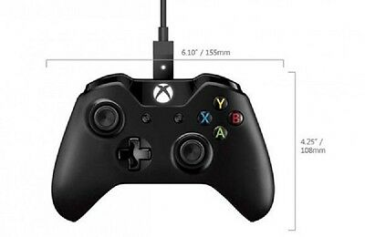 2x MICROSOFT XBOX ONE Controllers + Cable for Windows (XBOX ONE/PC)
