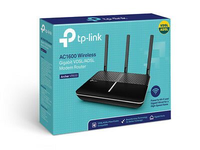 TP-Link Archer VR600 Wireless AC ADSL2+ VDSL NBN Ready Modem Router DualBand F45