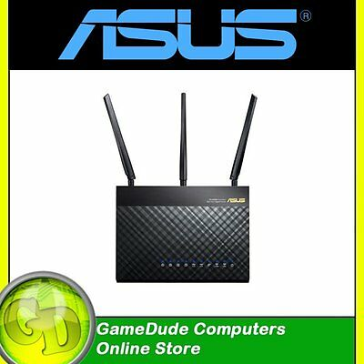NEW ASUS RT-AC68U AC1900 Wireless DualBand Gigabit Router 1.9Gbps F36