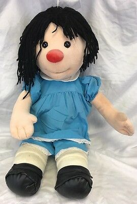 "Big Comfy Couch Molly Doll Clown 28"" Jumbo Plush 1995"