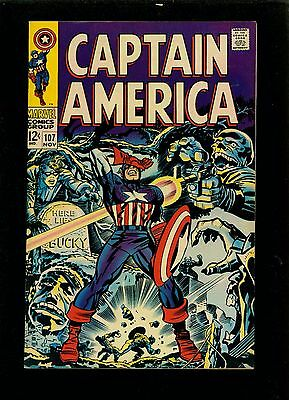 Captain America 107 - Large Scans