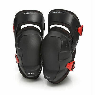 PROLOCK 93182 Professional Construction Foam Comfort Knee Pads Plus (1 pair)