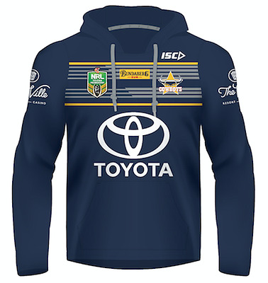 North Queensland Cowboys 2017 Jersey Hoody - Adults & Kids Sizes Hoodie NRL ISC