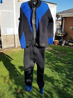 As New Scuba Wetsuit Ultimate 6mm Semi Dry 2 Piece