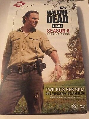 2017 Topps The Walking Dead Season 6 Parallel Trading Card Set Of 100 Rust Cards