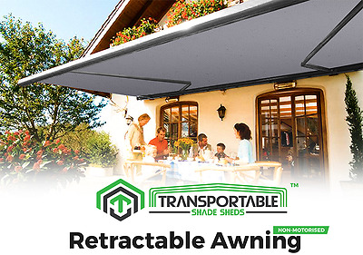 Retractable Deck Awning Shade Shelter