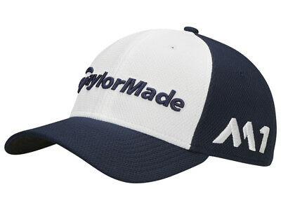 Taylormade Tour New Era 39Thirty Cap - Navy/White