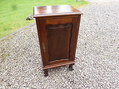 Edwardian Pot Cupboard Bedside Cabinet Ball And Claw Feet