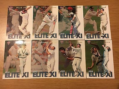 Futera Cricket Trading Cards 1994 Elite Xi Cards Lot Of 8 Limited Edition