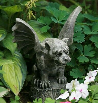Concrete plaster mold gargoyle. Latex n fiberglass new mold
