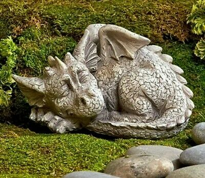 The sleeping dragon mold for plaster or concrete LATEX ONLY