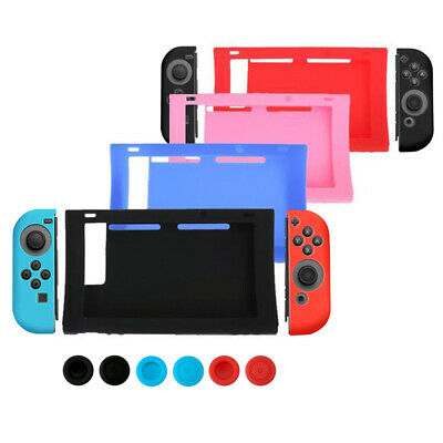 Silicone Case Cover Skin Cap Protector for Nintendo Switch Console Controller