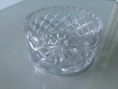 Lovely Vintage Inwald Hand Cut Crystal Bowl 9cms