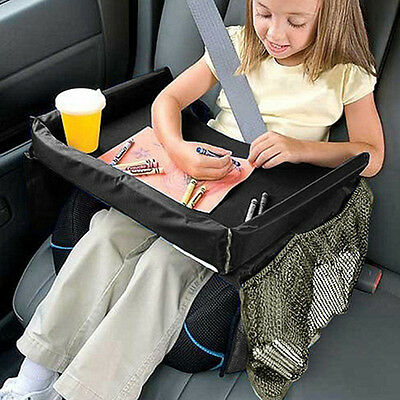 Baby Car Safety Seat Snack & Play Lap Tray Portable Table Kid Travel Waterproof