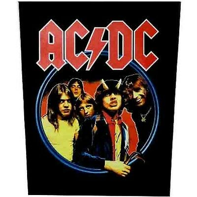 AC/DC highway to hell Back Patch XLG free worldwide shipping