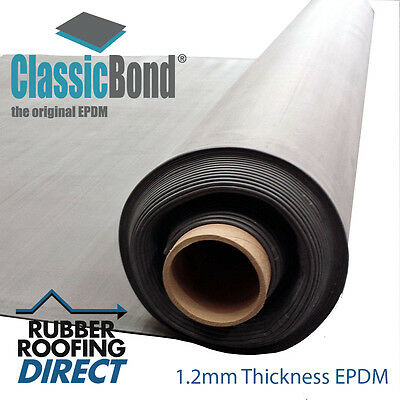 6m to 10.5m Wide EPDM Rubber Roofing Membranes for Flat Roofs  | Classicbond