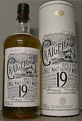 Craigellachie 19 Jahre Single Malt Scotch Whisky 1 L