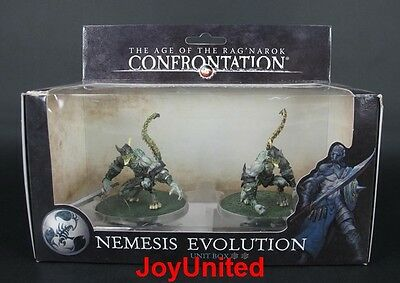 RACKHAM CONFRONTATION Scorpions Nemesis Evolution Unit Box Game Figure SCEL04