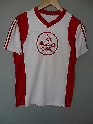 Vtg Adidas Erima 80's Football Shirt Trikot Made In West Germany Sz Medium 5/6