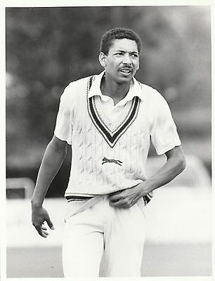 PHIL DEFREITAS (Leicestershire & England) black and white press photograph...