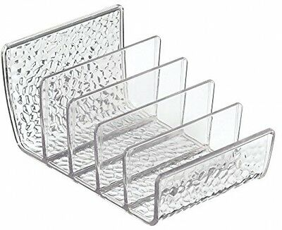 InterDesign Rain Cosmetic Palette Organizer For Vanity Cabinet To Hold Make-up