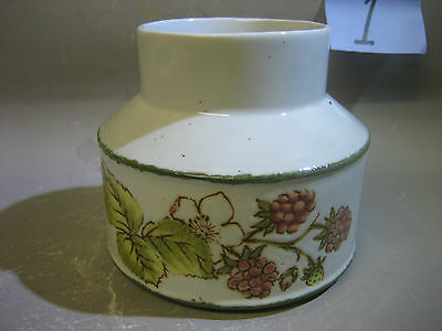 Vintage unusual England pottery jar / vase