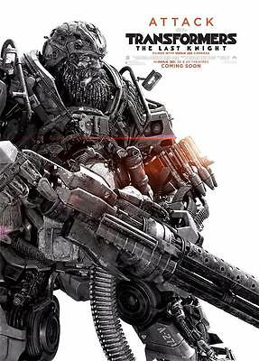 Transformers 5 Transformers The Last Knight Movie Art Decor Canvas POSTER 36x24""