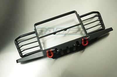 1/10 scale RC4WD D90 D110 Gelande Land Rover Metal Front Bumper w/Winch Shackles