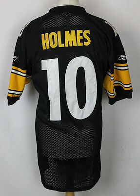 "Holmes #10 Pittsburgh Steelers American Football Jersey Mens 48"" Nfl Reebok"