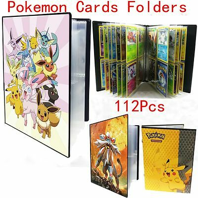Ultra Pro Pokemon Trading Card Folders Albums Portfolios Evoltuions Pokeball