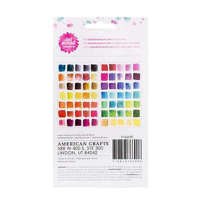 Jane Davenport Mixed Media Brights Rub-Ons Set - 2 Sheets of Assorted Transfers