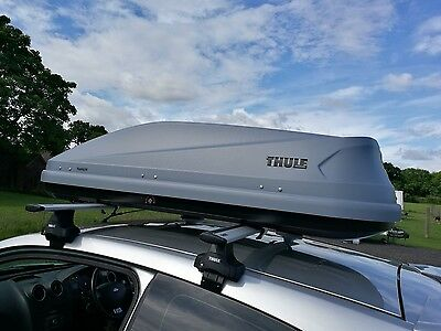 Thule Touring M Roof Box FOR HIRE ONLY. Sheffield