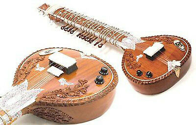 Electric Sitar - Studio Edition -Vol. & Tone Controls-with pick up By Dorpmarket