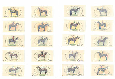 Players, Derby And Grand National Winners (Transfers)  Issued 1933