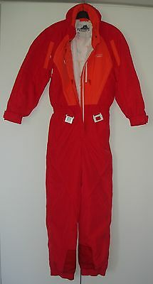 OUTDOOR ONE PIECE OVERALL WINTER SNOW SKI SUIT SIZE 36 AirPush TENSON IMMACULATE