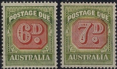 Australia.  1947-1953  Postage Due. Redrawn Design  SGD125-126.    Mint.
