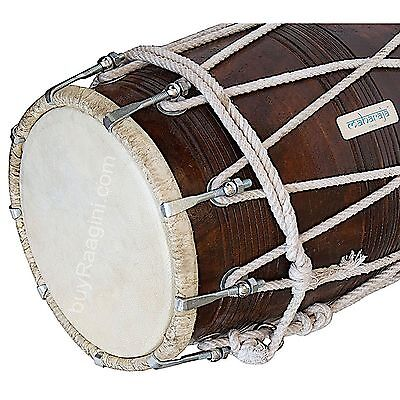 Special Dholak (Dholki),Nice Sheesham Wood with Tuning Spanner Handmade